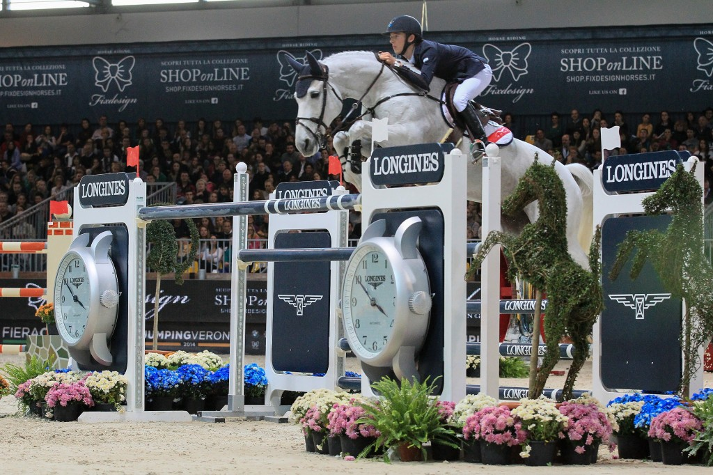 Longines FEI World Cupª Juming, Verona, ITA 10 November 2014